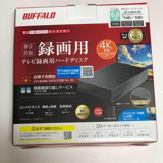 Buffalo - BUFFALO 外付けHDD 6TB(一度開封のみ未使用)