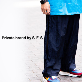 1LDK SELECT - Private brand by S.F.S * ナイロンパンツ