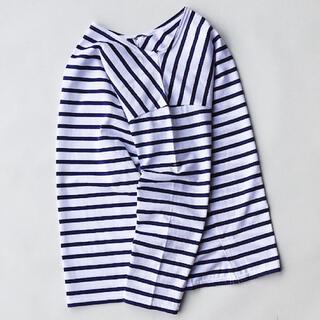 ワンエルディーケーセレクト(1LDK SELECT)のoutil le minor別注 TRICOT GROIX ウティ バスクシャツ(Tシャツ/カットソー(七分/長袖))