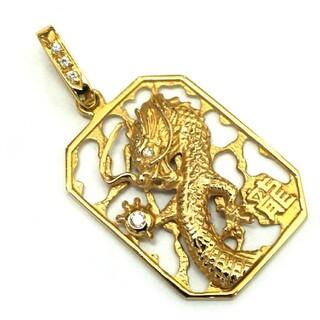 竜モチーフのトップ(ネックレス)