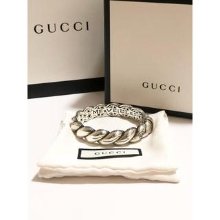 グッチ(Gucci)の新品未使用 定価約13万円 現在正規店での取扱なし GUCCIバングル(バングル/リストバンド)