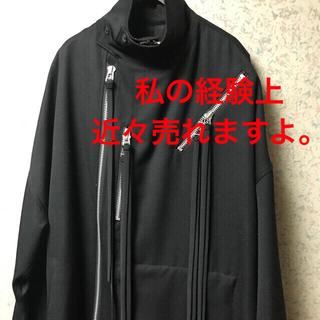 Yohji Yamamoto - yohjiyamamoto20aw アーミーギャバファスナーコート