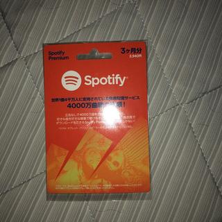 Spotify premium 3ヶ月(その他)