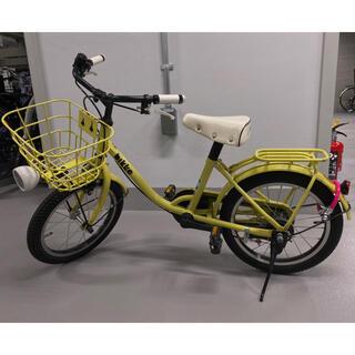 ブリヂストン(BRIDGESTONE)のbikke 16 イエロー 子供用自転車(自転車)