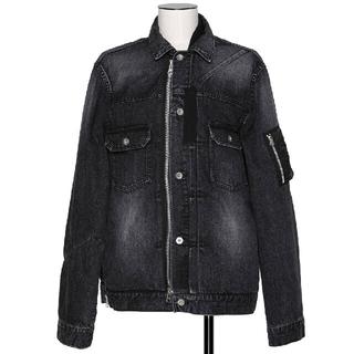 sacai - サイズ2 美品 sacai デニム ジャケット