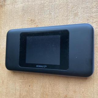 HUAWEI - 美品 Speed Wi-Fi NEXT W06 HWD37SKU ブラックブルー
