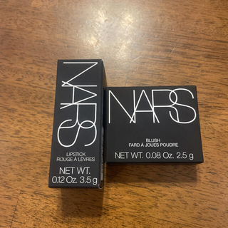 ナーズ(NARS)のNARS リップスティック 2991 & ブラッシュミニ 4105(非売品)(コフレ/メイクアップセット)