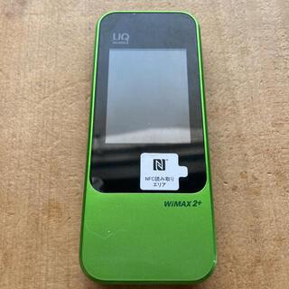 HUAWEI -  WiFi ルーター HUAWEI TECHNOLOGIES W04 グリーン