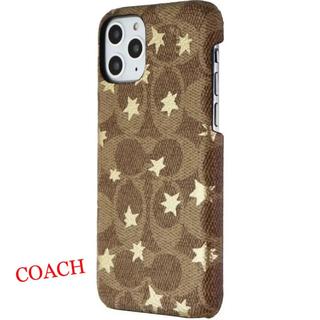 コーチ(COACH)の新品 COACH iPhone11 pro コーチ スマホケース シグネチャー (iPhoneケース)