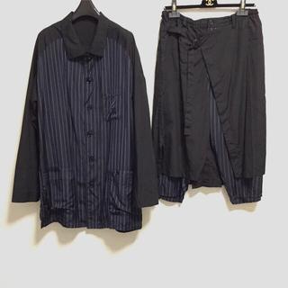 ヨウジヤマモト(Yohji Yamamoto)のyohji yamamoto homme■ヨウジヤマモト シャツ パンツ(セットアップ)