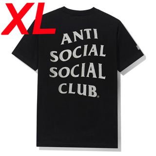 ASSC X Undefeated Paranoid Black Tee XL(Tシャツ/カットソー(半袖/袖なし))