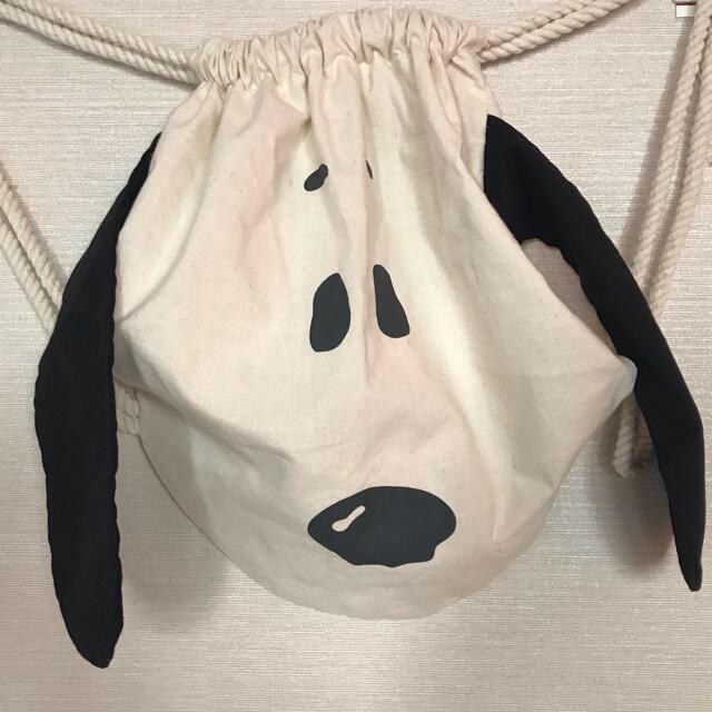 SNOOPY(スヌーピー)のスヌーピーバック レディースのバッグ(リュック/バックパック)の商品写真
