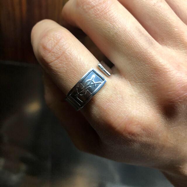 Saint Laurent(サンローラン)のイヴサンローラン Yves Saint Laurent スプーンリング20号 メンズのアクセサリー(リング(指輪))の商品写真
