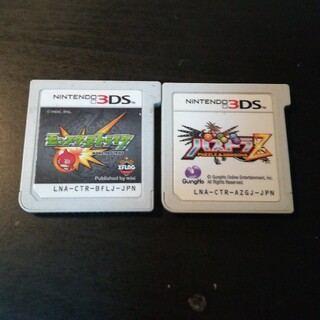 ★3DS★モンスト  パズドラZ  2本セット(携帯用ゲームソフト)