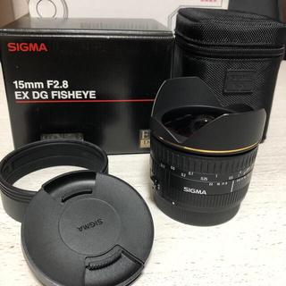 SIGMA - SIGMA 15mm F2.8 EX DG FISHEYE