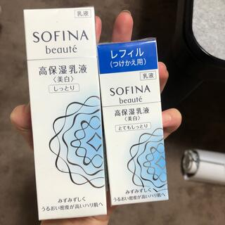 SOFINA - ソフィーナボーテ美白乳液、レフィルセット