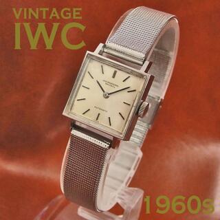 インターナショナルウォッチカンパニー(IWC)の IWC レディース ミニペラトン Cal.442 1968年 オートマチック(腕時計)