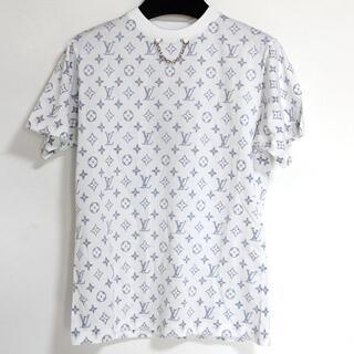 ルイヴィトン(LOUIS VUITTON)の新品 ルイヴィトン モノグラム エスカル プリンテッド Tシャツ チェーン XS(Tシャツ(半袖/袖なし))