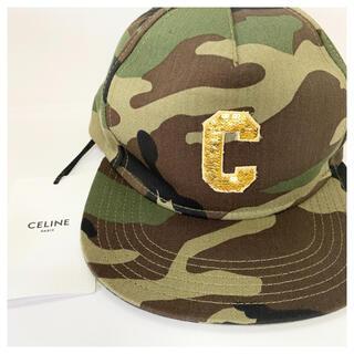 celine - 【新品・未使用】セリーヌ カモフラージュ ベースボールキャップS