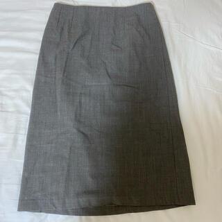 アーペーセー(A.P.C)のAPC 膝丈スカート グレー(ひざ丈スカート)