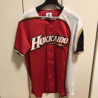 北海道日本ハムファイターズ - 北海道日本ハムファイターズ WE LOVE HOKKAIDO ユニフォーム 赤