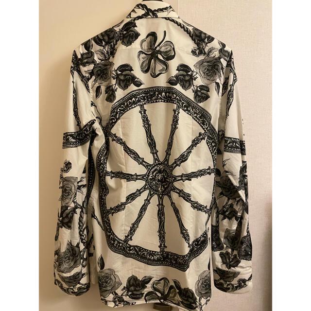DOLCE&GABBANA(ドルチェアンドガッバーナ)のドルチェ&ガッバーナDOLCE&GABBANA 花柄シャツ  メンズのトップス(シャツ)の商品写真