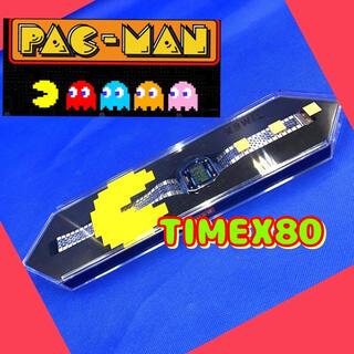 タイメックス(TIMEX)の【新品】TIMEX 80 パックマン 腕時計 TW2U31900 デジタル 美品(腕時計(デジタル))