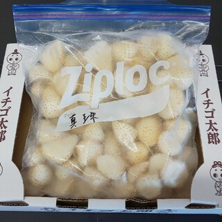 10naiL様専用 冷凍イチゴ パール・真珠 各1キロセット(フルーツ)