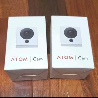 ATOMCam 2個セット(防犯カメラ)