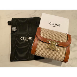 celine - CELINE スモールフラップウォレット 激レア品