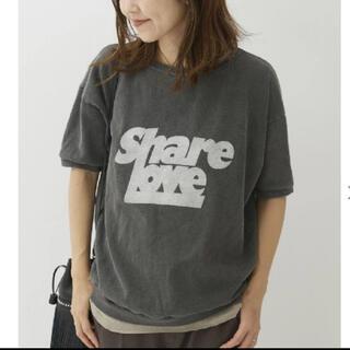 プラージュ(Plage)のplage 【MIXTA/ミクスタ】スウェットTシャツ(Tシャツ(半袖/袖なし))