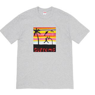 """シュプリーム(Supreme)のSupreme Dunk Tee """"Grey""""(Tシャツ/カットソー(半袖/袖なし))"""