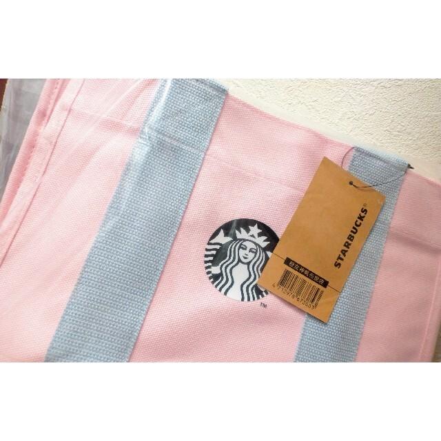 Starbucks Coffee(スターバックスコーヒー)の国内未発売 スターバックス 台湾 トートバッグ さくら レディースのバッグ(トートバッグ)の商品写真