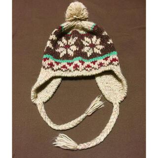 マカブー(makapu'u)の耳付きニット帽(ニット帽/ビーニー)