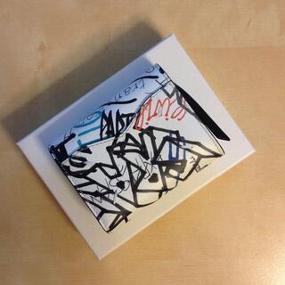 マルタンマルジェラ(Maison Martin Margiela)の新品 20ss マルジェラ 三つ折り財布 レザー グラフィティ 615(財布)
