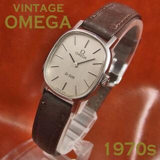 オメガ(OMEGA)のヴィンテージ オメガ デビル レディース Cal.625 1978年 手巻き(腕時計)