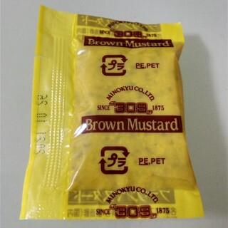 ブラウンマスタード 2袋(調味料)