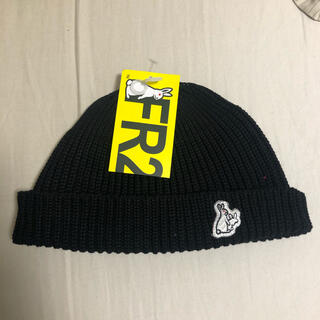 VANQUISH - FR2 ファッキンラビット ビーニー ブラック ニット帽 黒