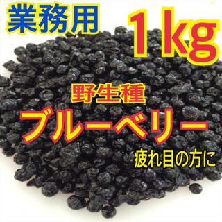 ワイルドブルーベリー業務用1kg【送料無料】(フルーツ)