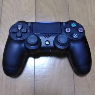 プレイステーション4(PlayStation4)のプレステ4 コントローラー ブラック ジャンク品(家庭用ゲーム機本体)