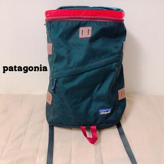 パタゴニア(patagonia)のパタゴニア リュック ブラック レッド(バッグパック/リュック)