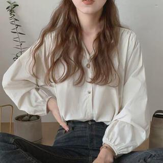 ディーホリック(dholic)の[新品][即発送]Hidden Shirring Blouse(シャツ/ブラウス(長袖/七分))