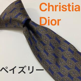 クリスチャンディオール(Christian Dior)のChristianDior ネクタイ ペイズリー オシャレ(ネクタイ)