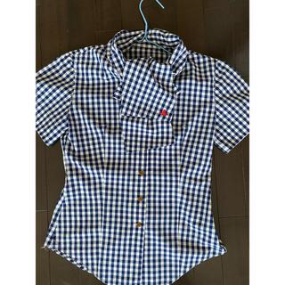 ヴィヴィアンウエストウッド(Vivienne Westwood)のVivienne Westwood半袖チェックシャツ(シャツ/ブラウス(半袖/袖なし))