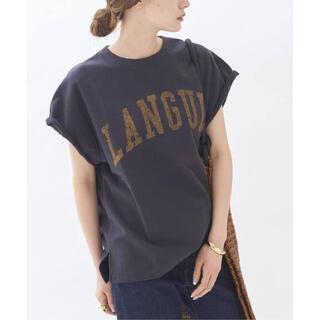 プラージュ(Plage)のCut off logo スウェット ロゴスウェット Plage プラージュ(Tシャツ(半袖/袖なし))
