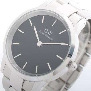 ダニエルウェリントン 腕時計 40 シルバー DW00100342