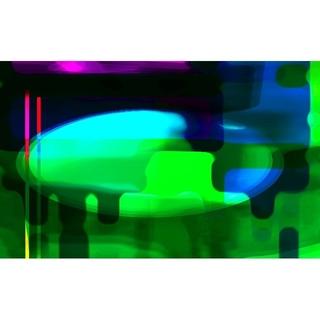 CG抽象画1215 テレワーク スマホ 抽象画(アート/写真)