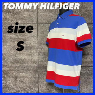 トミーヒルフィガー(TOMMY HILFIGER)のTOMMY HILFIGER トミーヒルフィガー ポロシャツ マルチカラー(ポロシャツ)