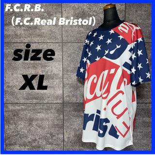 エフシーアールビー(F.C.R.B.)のF.C.R.B. エフシーアールビー COCA-COLA コラボ tee(Tシャツ/カットソー(半袖/袖なし))