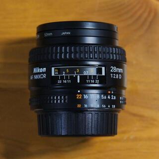 Nikon - Nikon AF NIKKOR 28mm/F2.8D